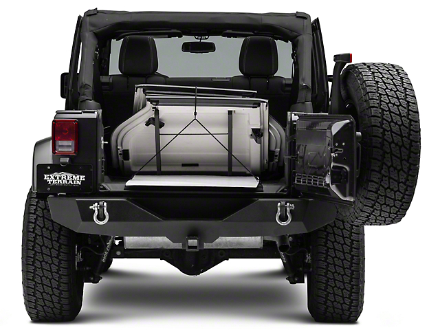 Sto-R-Tops Freedom Top Travel & Storage Rack (07-20 Jeep Wrangler JK & JL)