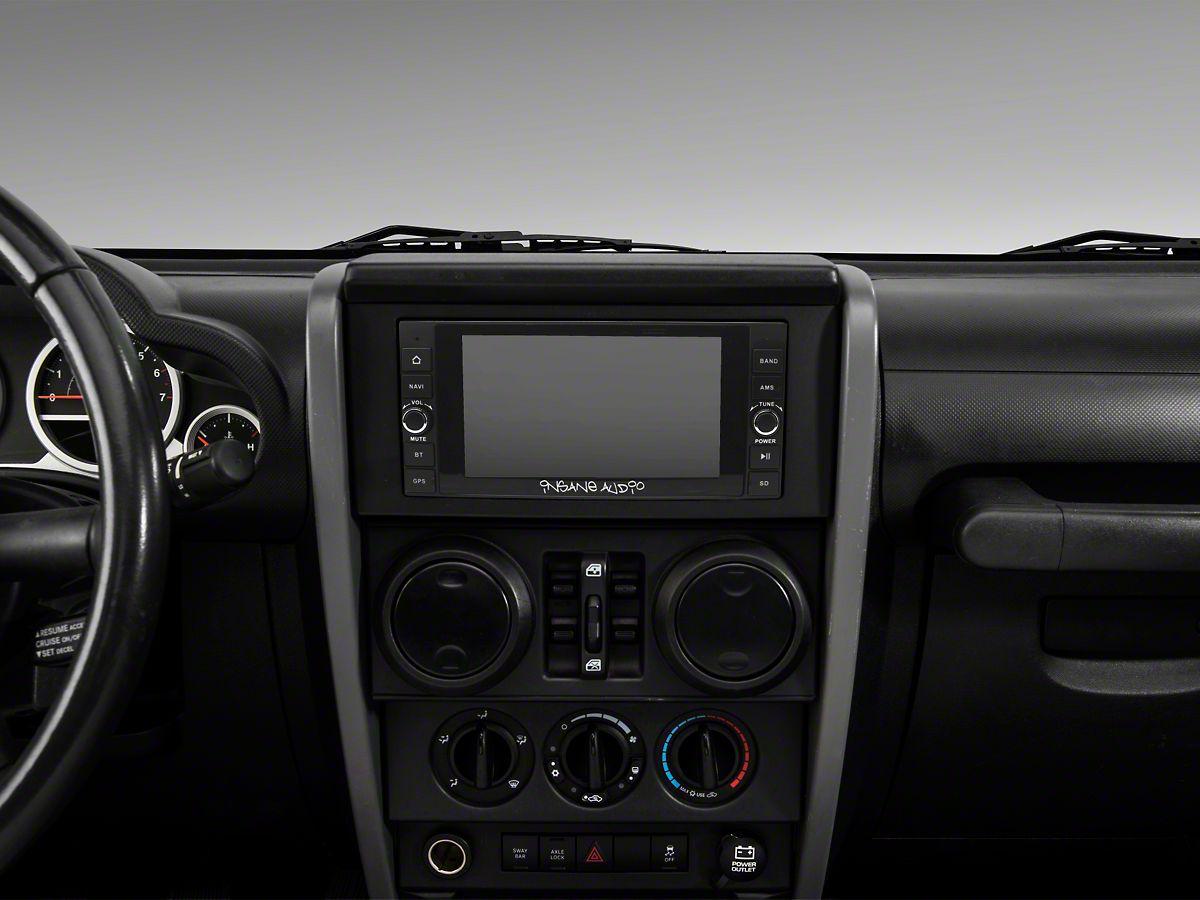 Insane Audio Navigation Head Unit (07-18 Jeep Wrangler JK)