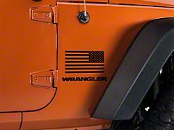 Small American Flag - 7x3.5 (87-20 Jeep Wrangler YJ, TJ, JK & JL)