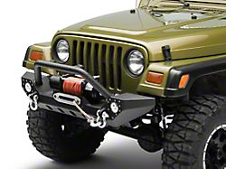 Barricade Adventure HD Bumper with LED Fog Lights (87-06 Jeep Wrangler YJ & TJ)