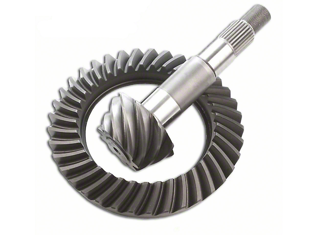 EXCEL from Richmond Dana 35 Rear Axle Ring and Pinion Gear Kit; 3.55 Gear Ratio (87-06 Jeep Wrangler YJ & TJ)