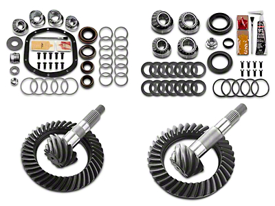 Motive Dana 30F/35R Complete Ring Gear and Pinion Kit - 4.10 Gears (97-06 Wrangler TJ, Excluding Rubicon)