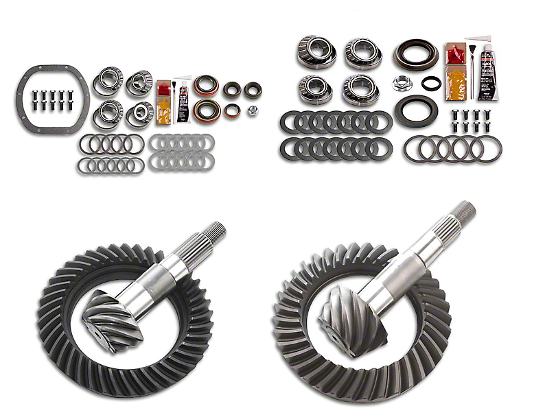 Motive Gear Dana 30 Front Axle/35 Rear Axle Complete Ring Gear and Pinion Kit - 4.10 Gears (87-95 Jeep Wrangler YJ)