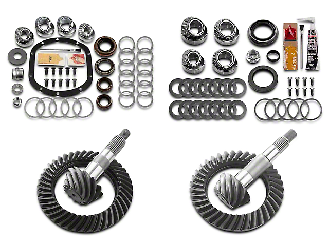 Motive Gear Dana 30 Front Axle/35 Rear Axle Complete Ring Gear and Pinion Kit - 4.56 Gears (97-06 Jeep Wrangler TJ, Excluding Rubicon)