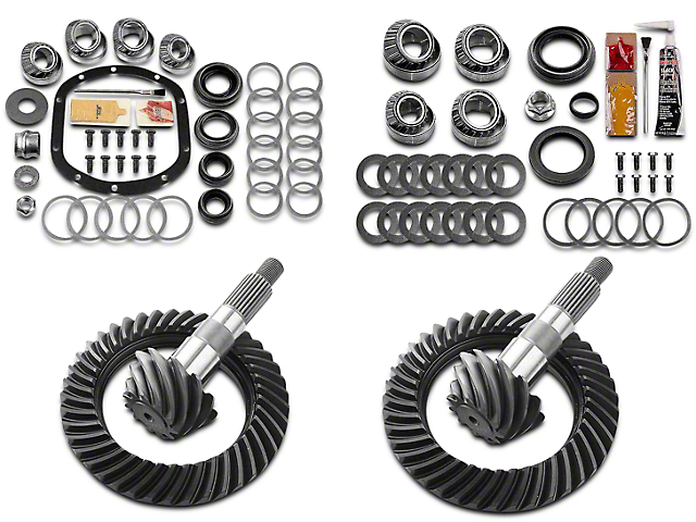 Motive Gear Dana 30 Front Axle/35 Rear Axle Complete Ring Gear and Pinion Kit - 4.88 Gears (97-06 Jeep Wrangler TJ, Excluding Rubicon)