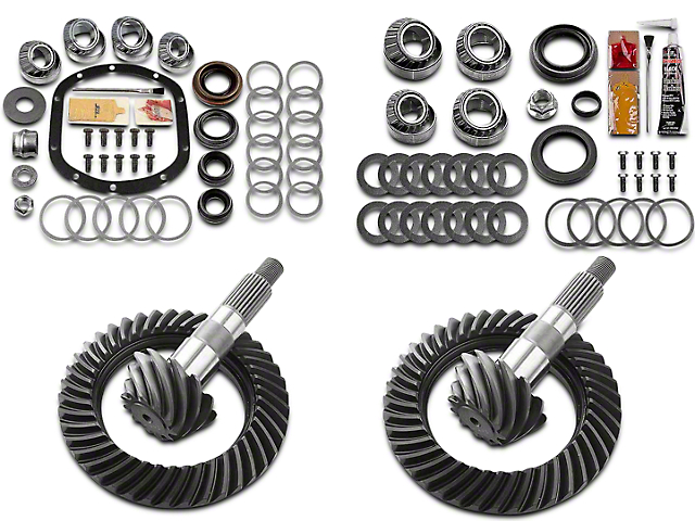 Motive Gear Dana 30 Front Axle/44 Rear Axle Complete Ring Gear and Pinion Kit - 4.10 Gears (97-06 Jeep Wrangler TJ, Excluding Rubicon)