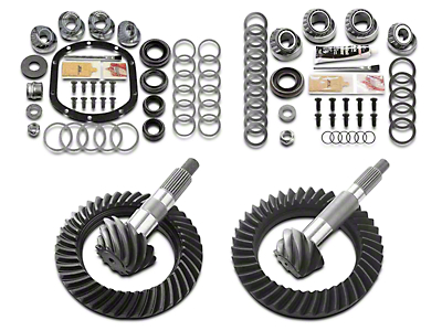 Motive Dana 30F/44R Complete Ring Gear and Pinion Kit - 4.56 Gears (97-06 Jeep Wrangler TJ, Excluding Rubicon)