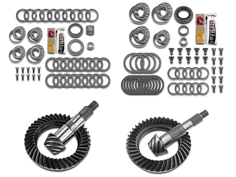 Motive Gear Dana 30 Front Axle/44 Rear Axle Complete Ring Gear and Pinion Kit - 5.13 Gears (07-18 Jeep Wrangler JK, Excluding Rubicon)