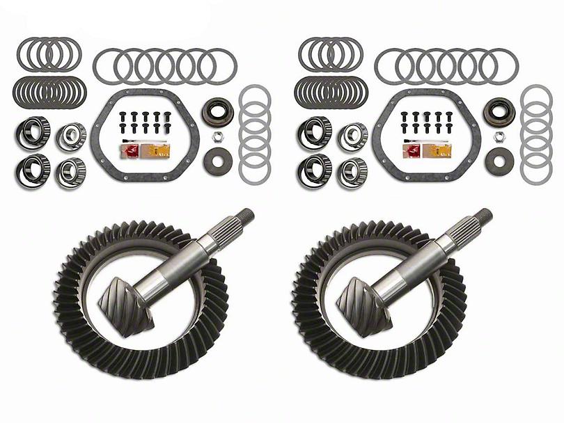 Motive Gear Dana 44 Front Axle/44 Rear Axle Complete Ring Gear and Pinion Kit - 4.56 Gears (03-06 Jeep Wrangler TJ Rubicon)