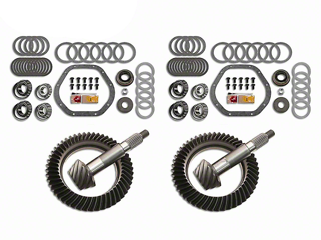 Motive Gear Dana 44 Front Axle/44 Rear Axle Complete Ring Gear and Pinion Kit - 4.88 Gears (03-06 Jeep Wrangler TJ Rubicon)