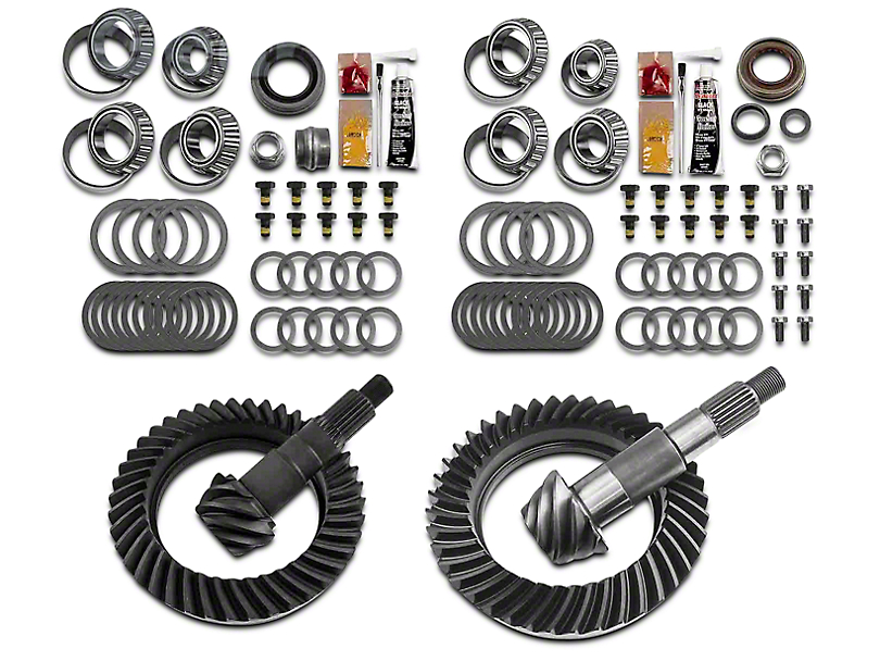 Motive Gear Dana 44 Front Axle/44 Rear Axle Complete Ring and Pinion Gear Kit - 5.13 Gear Ratio (07-18 Jeep Wrangler JK Rubicon)