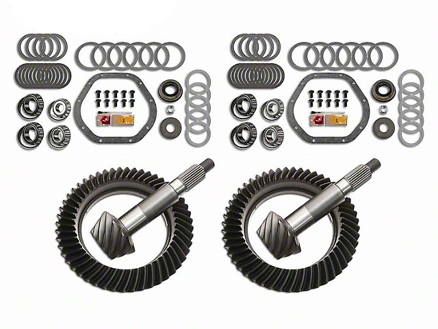 Motive Dana 44 Front Axle/44 Rear Axle Complete Ring Gear and Pinion Kit - 5.13 Gears (03-06 Jeep Wrangler TJ Rubicon)
