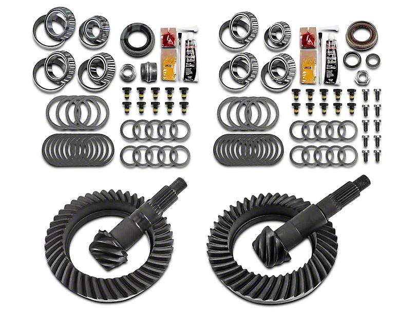 Motive Gear Dana 44 Front Axle/44 Rear Axle Complete Ring Gear and Pinion Kit - 5.38 Gears (07-18 Jeep Wrangler JK Rubicon)