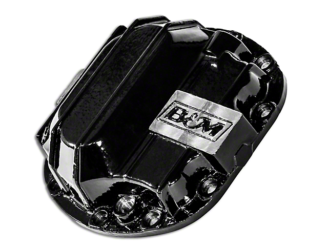 B&M Dana 30 Nodular Iron Differential Cover (87-18 Jeep Wrangler YJ, TJ & JK, Excluding Rubicon)