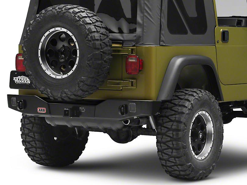 ARB Rear Bumper (87-06 Jeep Wrangler TJ)