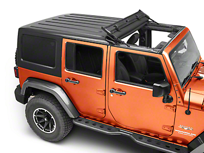 Black Forest Gear ThrowBack Soft Top (07-18 Wrangler JK)