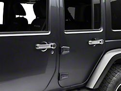SpeedForm Chrome Door Handle & Tailgate Handle Covers (07-18 Jeep Wrangler JK 4 Door)