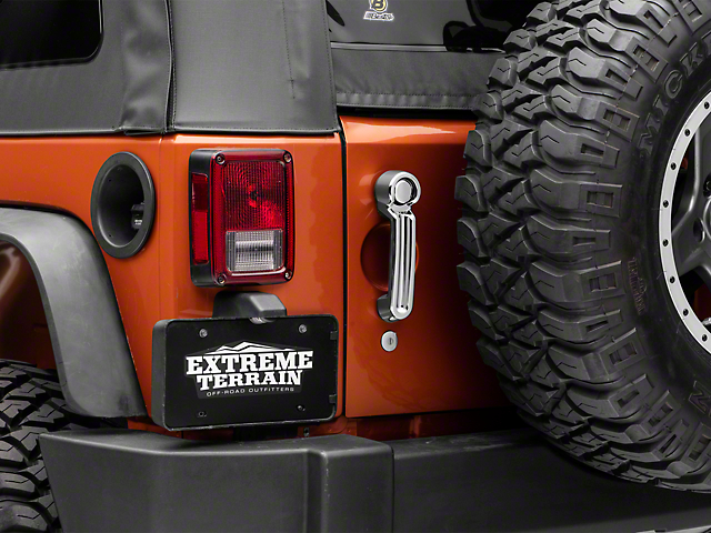 SpeedForm Chrome Tailgate Handle Cover (07-18 Jeep Wrangler JK)