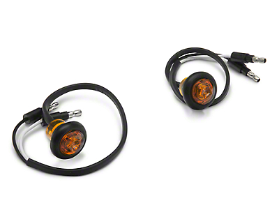 Smittybilt LED Turn Signals for XRC Flux Fender Flares (07-18 Jeep Wrangler JK)