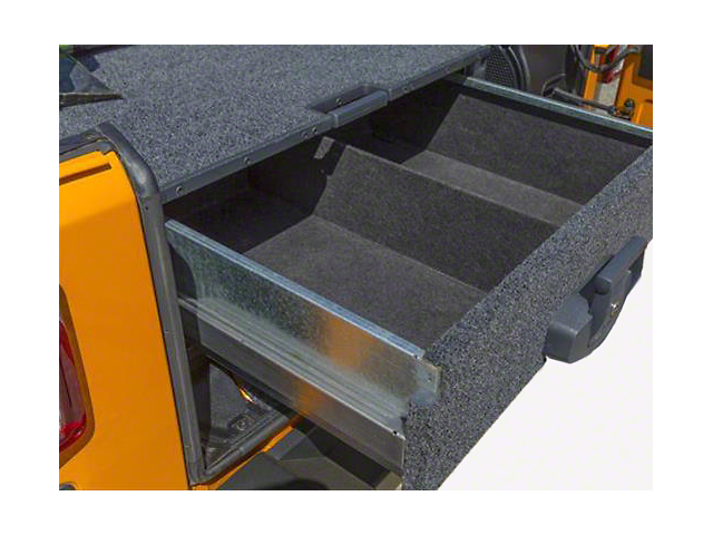 ARB Roller Drawer & Roller Drawer w/ Roller Floor Kit (07-10 Jeep Wrangler JK 2 Door)