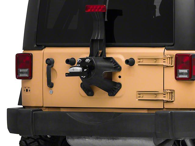 ARB Spare Tire Mount License Plate Relocator (87-18 Jeep Wrangler YJ, TJ & JK)