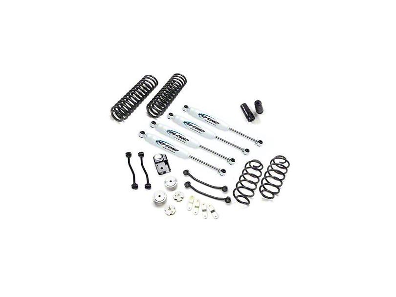 Pro Comp Suspension 4 in. Stage I Lift Kit w/ ES9000 Shocks (07-18 Jeep Wrangler JK)