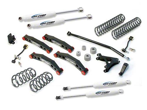 Pro Comp 4 in. Stage II Lift Kit w/ ES3000 Shocks (04-06 Jeep Wrangler TJ Unlimited)