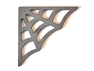 Poison Spyder 90 Degree Web Cage Gussets (87-18 Jeep Wrangler YJ, TJ, JK & JL)