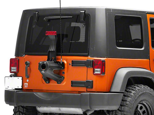 Poison Spyder CB Antenna Mount (07-18 Jeep Wrangler JK)