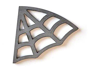 Poison Spyder Curved Web Cage Gussets (87-18 Wrangler YJ, TJ, JK & JL)