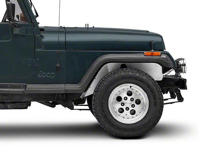 Poison Spyder DeFenders Solid Inner Fender Kit (87-95 Jeep Wrangler YJ)