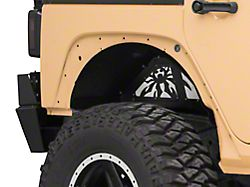 Poison Spyder Rear Inner Fender Kit; SpyderShell Armor Coat (07-18 Jeep Wrangler JK)