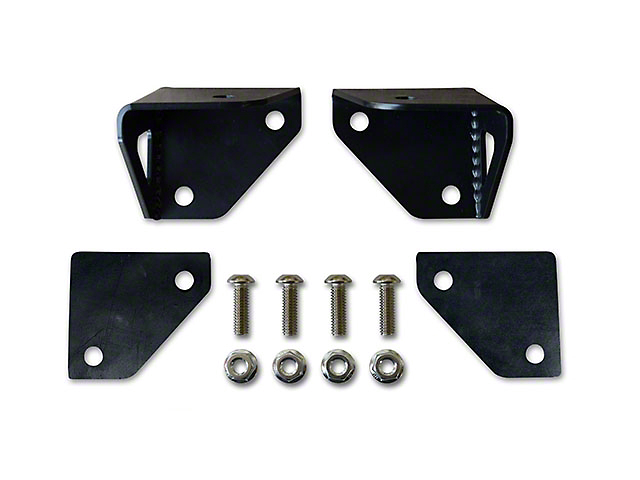 Poison Spyder Rigid Dually A-Pillar Light Mounts (87-95 Jeep Wrangler YJ)