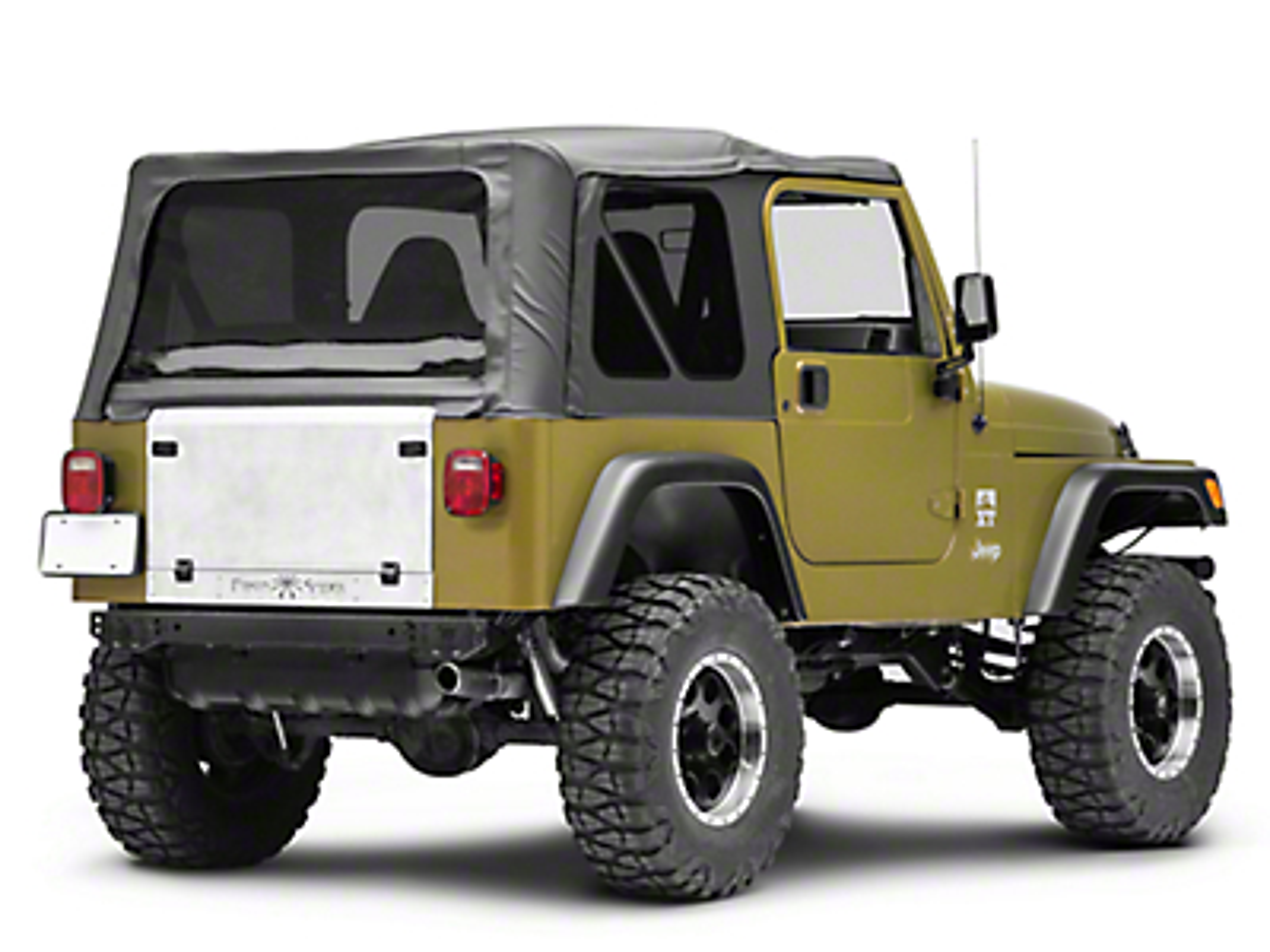 Poison Spyder Trail Gate (97-06 Jeep Wrangler TJ)