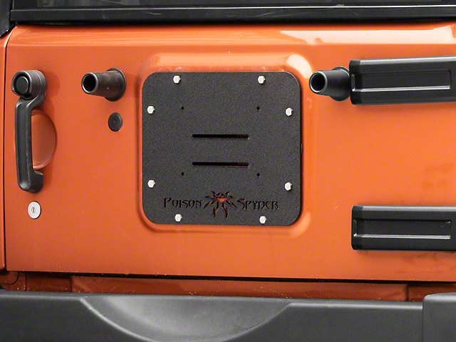 Poison Spyder Tramp Stamp 07 18 Jeep Wrangler JK