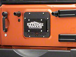 Poison Spyder Tramp Stamp II w/ License Plate Mount - Wide Vent (07-18 Jeep Wrangler JK)