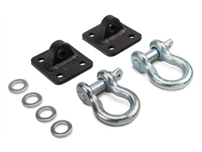 Rough Country D-Ring Kit (87-18 Jeep Wrangler YJ, TJ & JK)