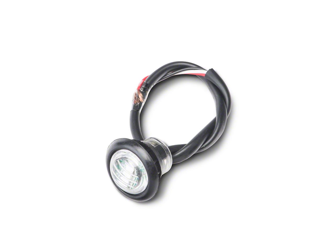 Poison Spyder 3/4 in. LED Marker Lamp - Clear/Amber