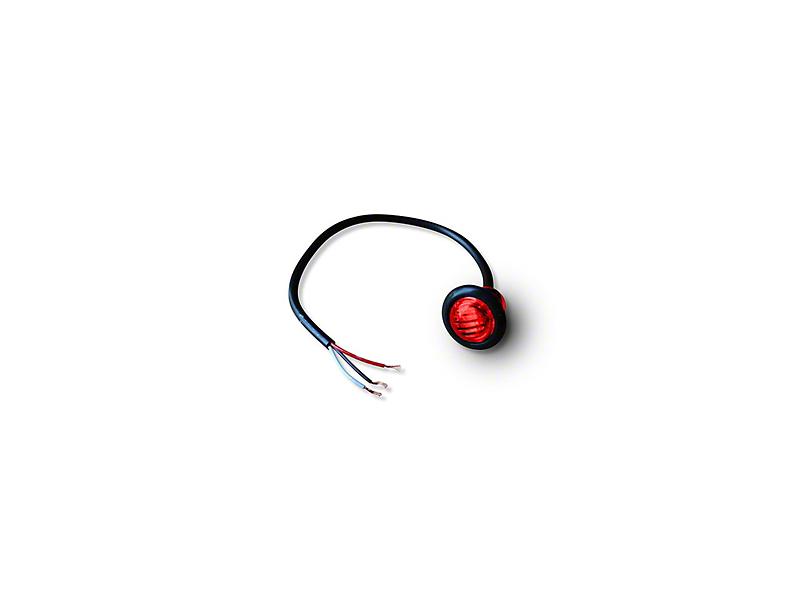 Poison Spyder 3/4 in. LED Marker Lamp - Red