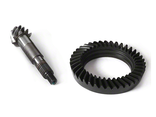 Alloy USA Dana 30 Front Axle Ring and Pinion Gear Kit; 4.88 Reverse Gear Ratio (87-95 Jeep Wrangler YJ)