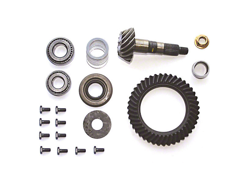 Dana 30 Front Axle Ring Gear and Pinion Kit - 3.07 Gears (97-06 Jeep Wrangler TJ)