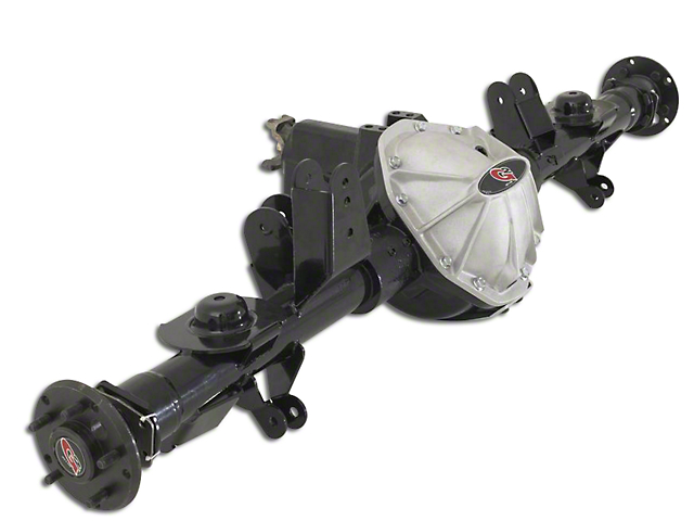 G2 Axle and Gear RockJock Dana 60 Rear Axle Assembly w/ Set 10 Wheel Bearings & ARB Air Locker - 4.88 (07-18 Jeep Wrangler JK)