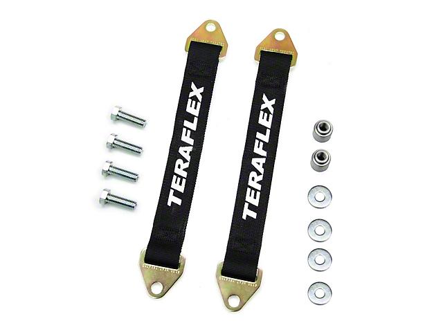 Teraflex 13.5 in. Rear Limit Strap Kit for 3-4 in. Lift (07-18 Jeep Wrangler JK)