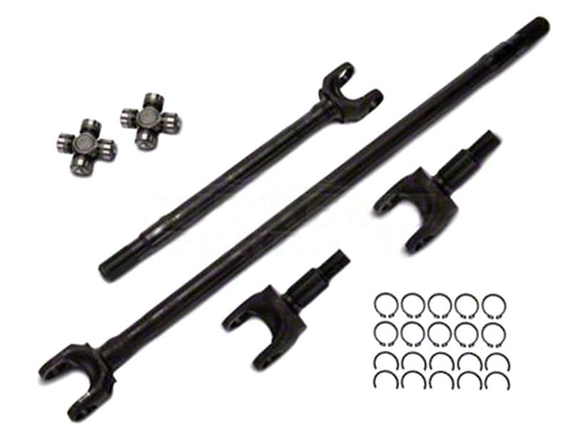Alloy USA 27 Spline Dana 30 Front Axle Kit (07-18 Jeep Wrangler JK)
