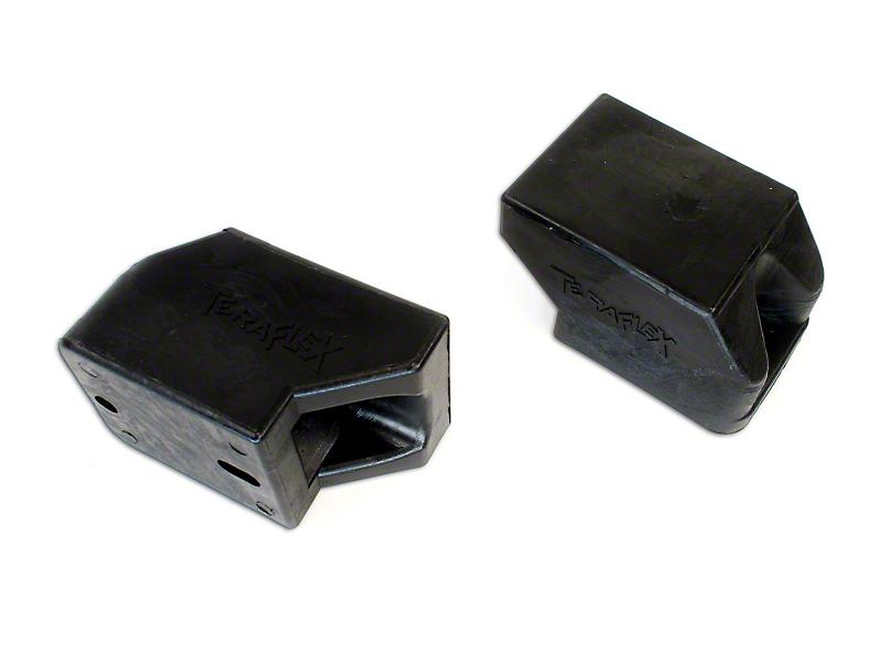 Teraflex 2.75 in. Rear Lower Bump Stop Pad Kit (07-18 Jeep Wrangler JK)
