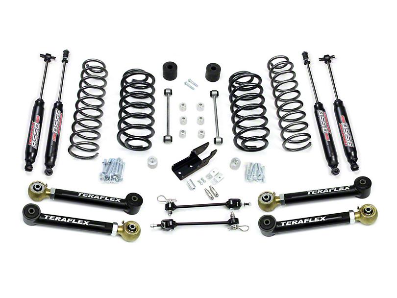 Teraflex 3 in. Lift Kit w/ Lower FlexArms & 9550 Shocks (97-06 Jeep Wrangler TJ)