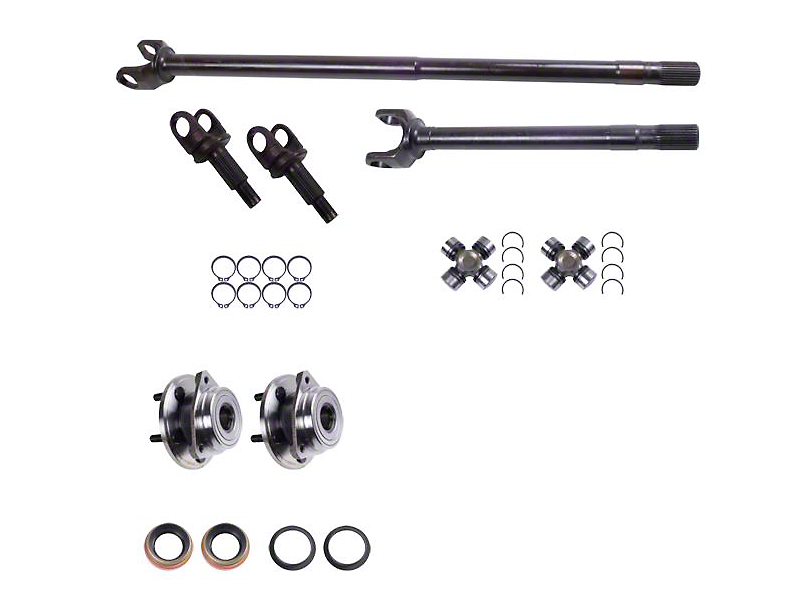 Alloy USA Dana 30 Grande 30/30-Spline Kit (97-06 Jeep Wrangler TJ)