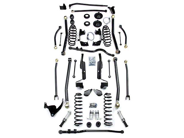 Teraflex 6 in. Elite LCG Long FlexArm Lift Suspension Kit w/ SpeedBumps (07-18 Jeep Wrangler JK 4 Door)