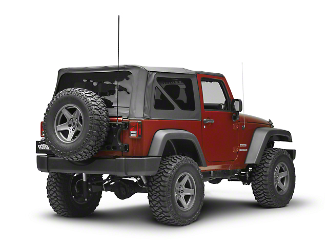 Teraflex Alpha HD Hinged Carrier CB Antenna Mount (07-18 Jeep Wrangler JK)