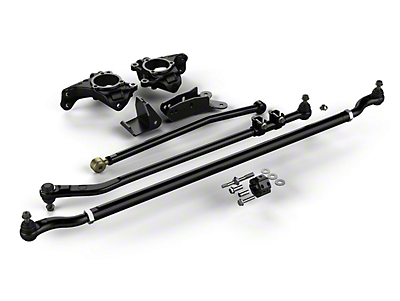 Teraflex Complete High Steer Lift Kit w/ HD Tie Rod & Flipped Drag Link Kit (07-18 Wrangler JK)